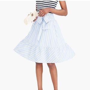 J by Jcrew | midi striped skirt • 2